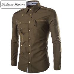 Fashione Shanone - Stock limité - Chemise à rivets