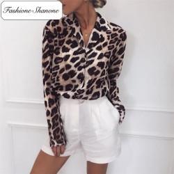 Fashione Shanone - Limited stock - Leopard shirt