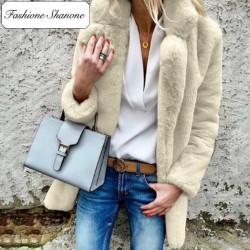 Fashione Shanone - Stock limité - Manteau en fourrure