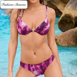 Fashione Shanone - Gradient push up bikini