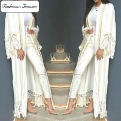 Fashione Shanone - Abaya avec dentelle