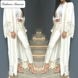 Fashione Shanone - Abaya with lace