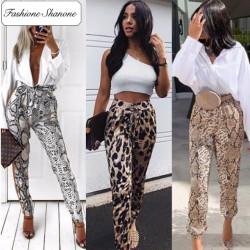 Fashione Shanone - Animal printed pants