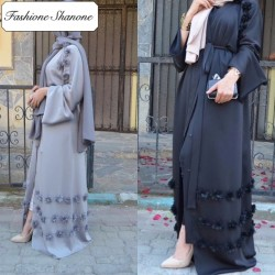Fashione Shanone - Abaya fleurie