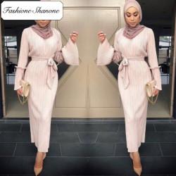 Fashione Shanone - Robe musulmane plissée