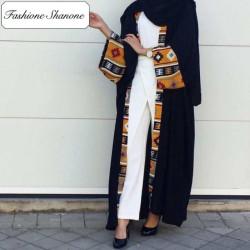 Fashione Shanone - Abaya motif africain