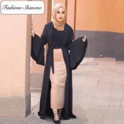 Fashione Shanone - Trumpet sleeves abaya