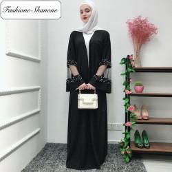 Fashione Shanone - Abaya avec dentelle et perles