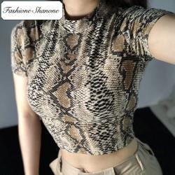 Fashione Shanone - Crop top serpent