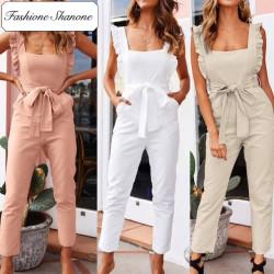 Fashione Shanone - Ruffle jumpsuit