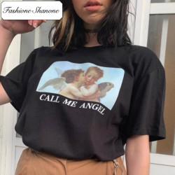 Fashione Shanone - CALL ME ANGEL T-shirt