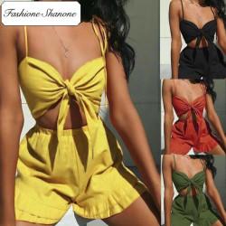 Fashione Shanone - Ensemble crop top et short