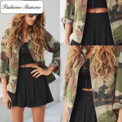 Fashione Shanone - Veste militaire