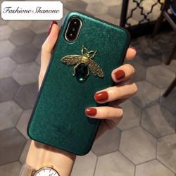 Moins de 10 euros - Coque Iphone abeille
