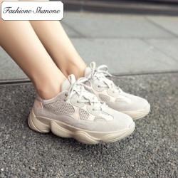 Fashione Shanone - Beige sneakers
