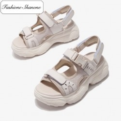 Fashione Shanone - Sandals with thick soles