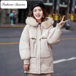 Fashione Shanone - Parka with fur hood