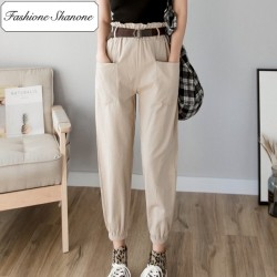 Fashione Shanone - High waist cargo pants