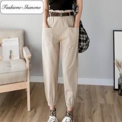 Fashione Shanone - Pantalon cargo taille haute