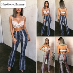 Fashione Shanone - Pantalons pattes d'éléphant boho