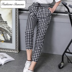 Fashione Shanone - Pantalon casual vichy