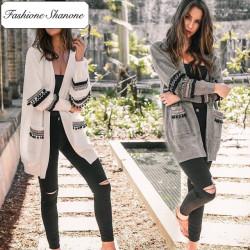 Fashione Shanone - Cardigan with tassel
