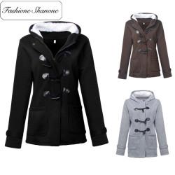 Fashione Shanone - Manteau à fermeture éclair
