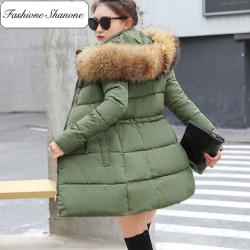 Fashione Shanone - Parka avec capuche en fourrure
