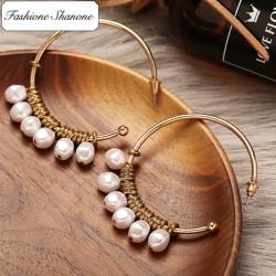 Fashione Shanone - Boucles d'oreille créole à perles