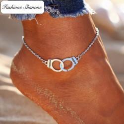 Fashione Shanone - Bracelet de cheville menotte