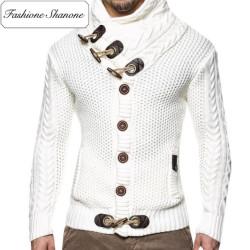 Fashione Shanone - Gilet col roulé boutonné