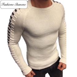 Fashione Shanone - Round neck tight sweater