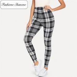 Fashione Shanone - Legging plaid