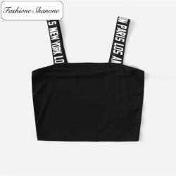 Fashione Shanone - Crop top à bretelles