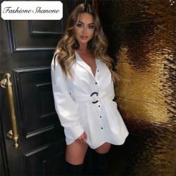 Fashione Shanone - Robe chemise avec ceinture