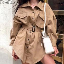 Fashione Shanone - Robe chemise cargo