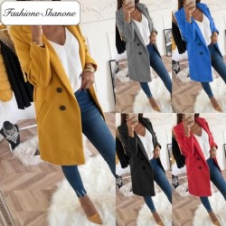 Fashione Shanone - Several colors waisted coat