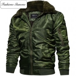 Fashione Shanone - Bomber with fur collar