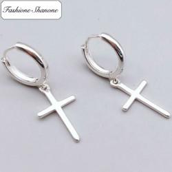 Fashione Shanone - Boucles d'oreille croix