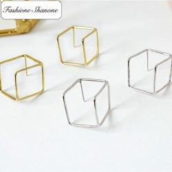 Fashione Shanone - Boucles d'oreille cube