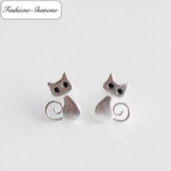 Fashione Shanone - Boucles d'oreille chat