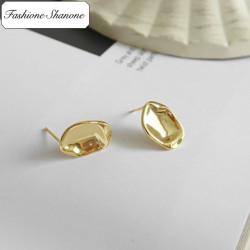 Fashione Shanone - Concave earrings