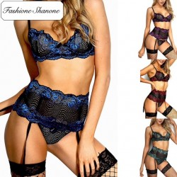 Fashione Shanone - 3 pieces lingerie set