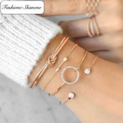 Fashione Shanone - Ensemble de bracelets bohème