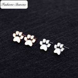 Fashione Shanone - Dog paw earrings