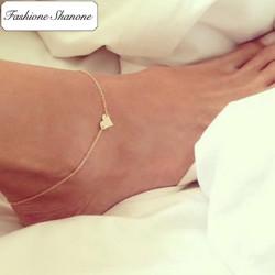 Fashione Shanone - Bracelet de cheville coeur