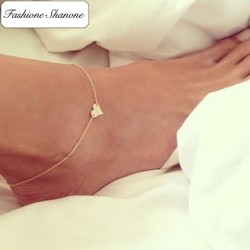 Fashione Shanone - Heart anklet