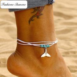 Fashione Shanone - Bracelet de cheville sirène