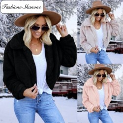 Fashione Shanone - Fur short coat