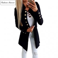 Fashione Shanone - Long officer jacket